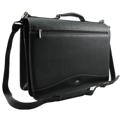 Leather Laptop Briefcases for Dell Computer - Forza
