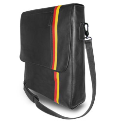 Leather Laptop Messenger for Apple Computer - The Kiruna